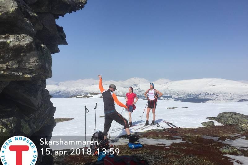Skitur til Skarshammaren