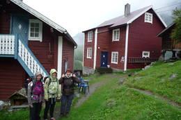 August 2010 Vetti gard, Jotunheimen  -  Foto: vera engebakken