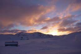 Krossvatn i soloppgang vinterstid - Foto: Erik Gram Kverneland