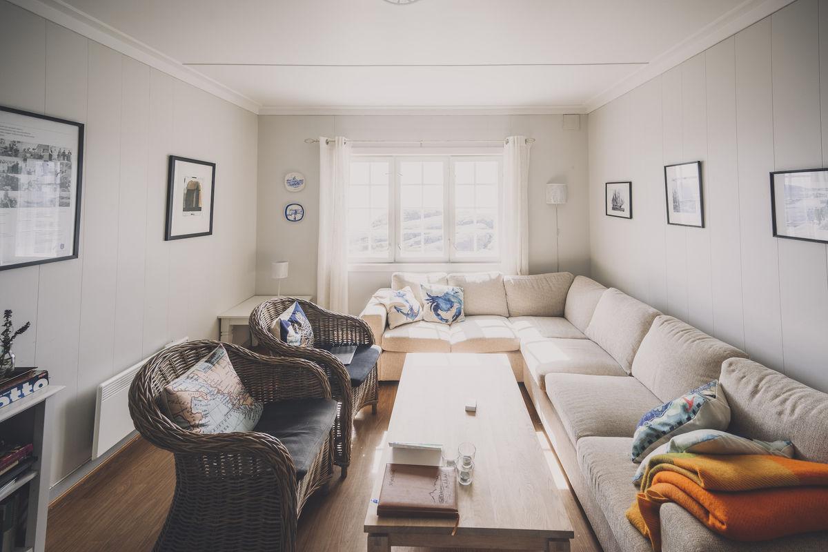 Stor og romslig sofa