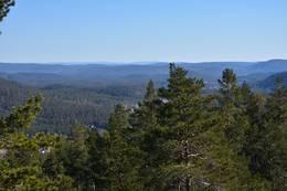 Utsikt fra Trollfjell -  Foto: Knut Åkredalen