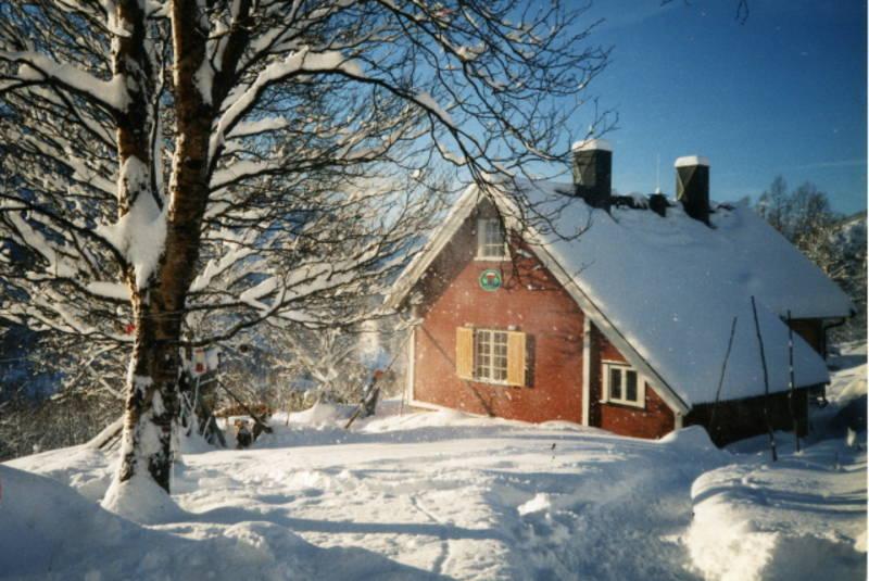 Vinter ved Vokterboligen