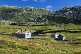 Vending med Geitafjellet bak - Foto: Bergen Turlag