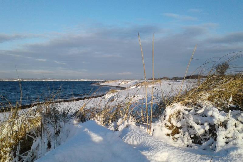 Vinter på stranda