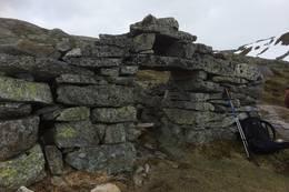 Gammal steinmur i Vierdalen - Foto: Torill Opedal Hauge