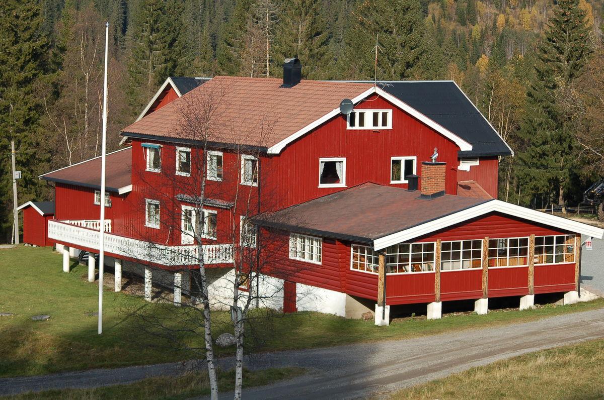 Eiksetra turisthytte i Finnemarka