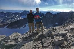 Toppen af Snehætten -  Foto: Christian Ambye