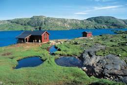 Tomannsbu ligger flott til like ved Djupevatnet -  Foto: Stavanger Turistforening