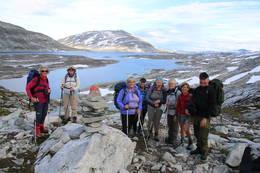 Snart på Danskehytta fra Grotli - Foto: Hans Christian Heian