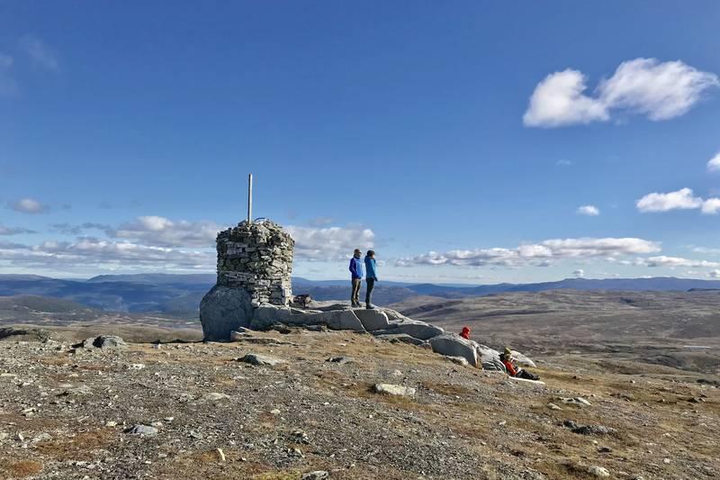 Hallingnatten - det høyeste punktet i Nes