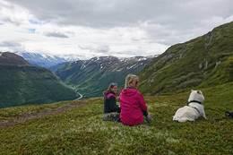 Utsikt mot Bøverdalen - Foto: Åshild Myhre Amundsen
