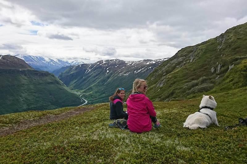 Utsikt mot Bøverdalen