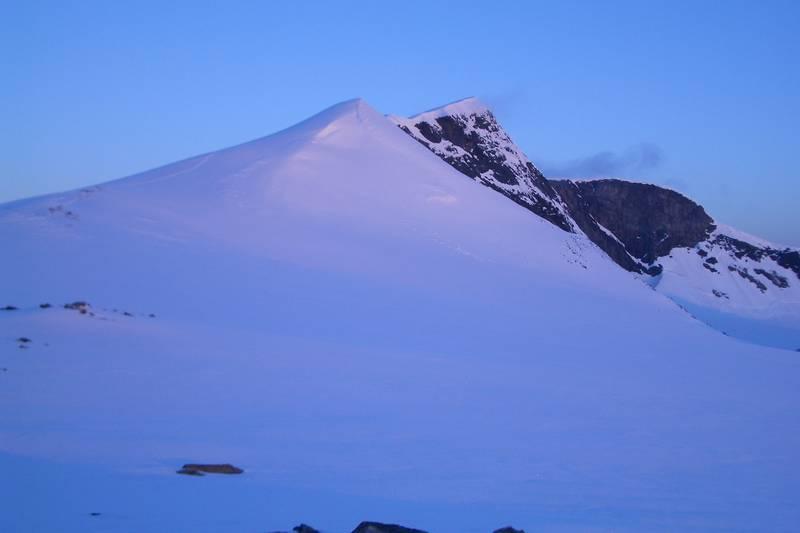 Topptur til Glittertinden (2457 moh.) i Jotunheimen