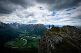 Fra turen over eggen - Foto: Øystein Tveiten