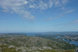 Utsikt fra Liatårnet på Sotra - Foto: Nina Grimeland