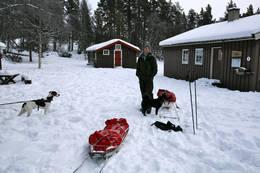 Framme ved Røvollen - Foto: Marie Brøvig Andersen