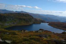 Øvrastølsvatnet - Foto: Ragnar Fosstveit
