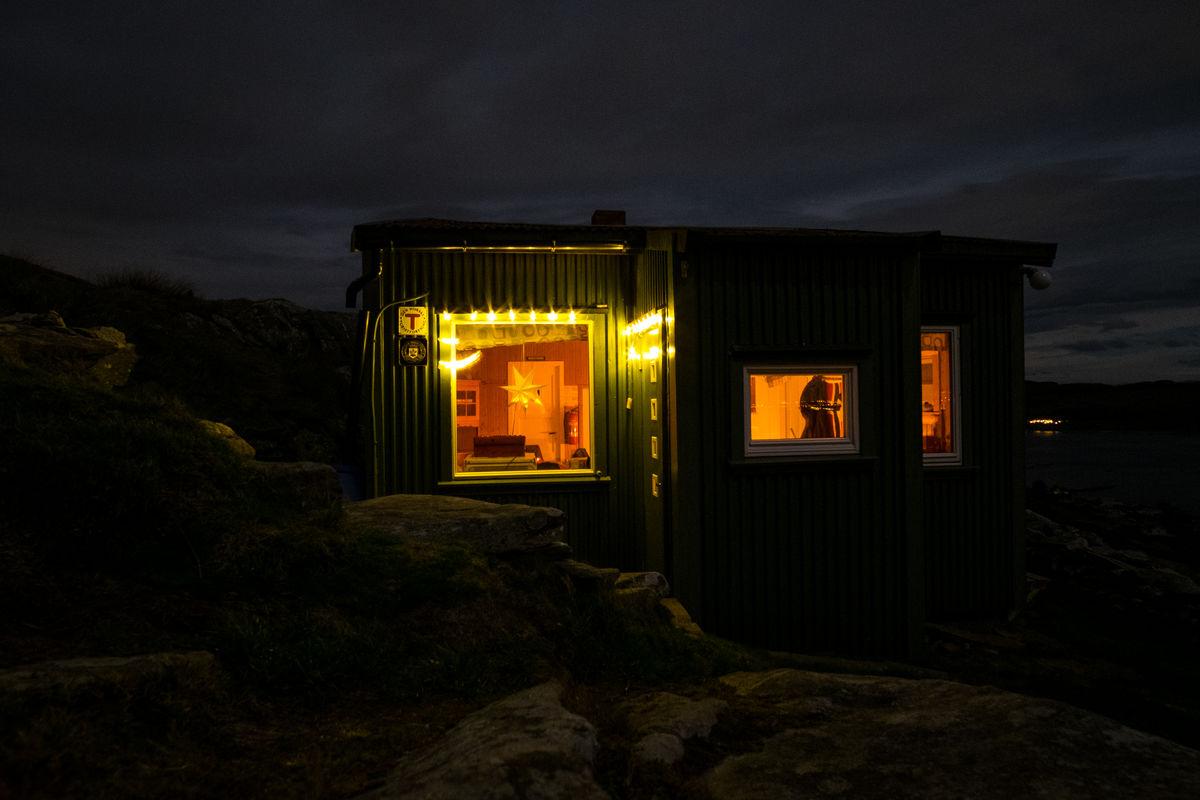 Jul på Fjøløy turisthytte