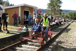 Flikkeid stasjon - Foto: Ukjent