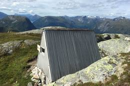 Hytta på Kleivafjellet - Foto: Anne Cecilie Kapstad