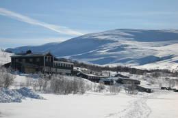 Perfekt vinter ved Gjendesheim - Foto: Ukjent