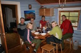 Bergersætra - kjøkkenet - Foto: Ann Kristin Devik