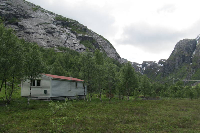 Hytta i Daurmålsdalen er open