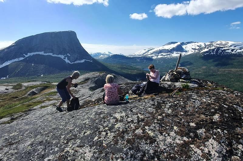 På toppen av Storberget har du fin utsikt til Kråkmotinden.