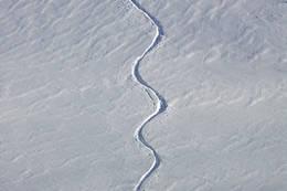 Svinger ned fra Sveigen  - Foto: Ukjent