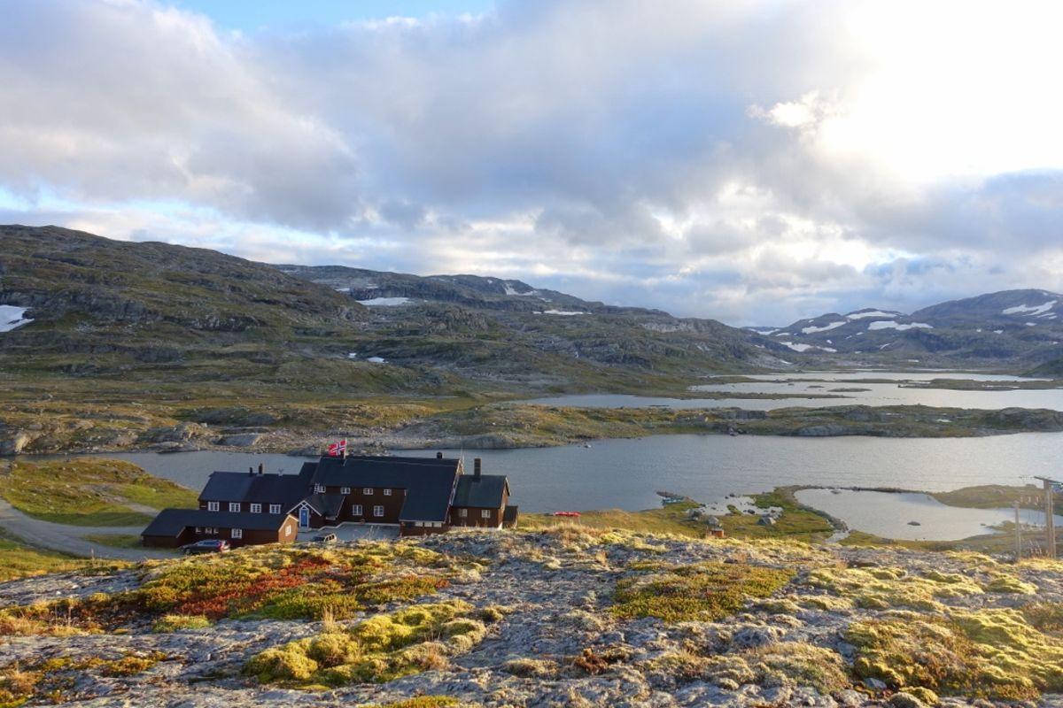 Utsikt over Geiteryggvatnet