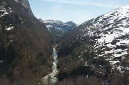Rundtur fra Kvitlen Norges svar på Grand Canyon: Nordre Kvitladalen Turen er godt merket og skiltet fra hytta - Foto: Alf-Magne Undal
