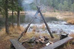 Rubensplass ved Galtetjern -  Foto: Telemark Turistforening
