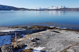 Fflott utsikt mot Hamsundfjella - Foto: Kjell Fredriksen