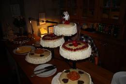Bryllups kake lager vi også - Foto: