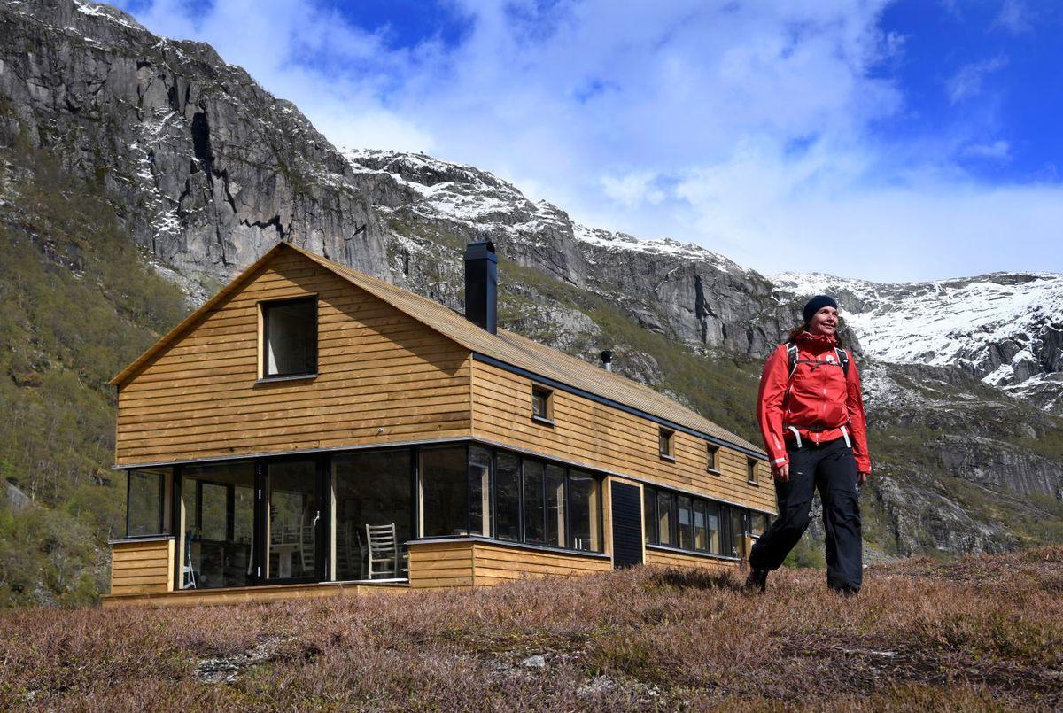 Ny hytte i Viglesdalen mai 2019.