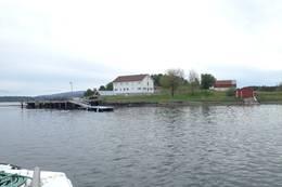 Velkommen til Aunøya.. -  Foto: Johan Eide