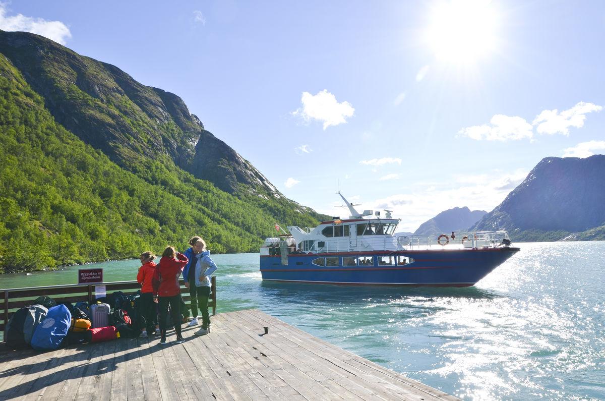 Båten Gjendine på Gjendevannet