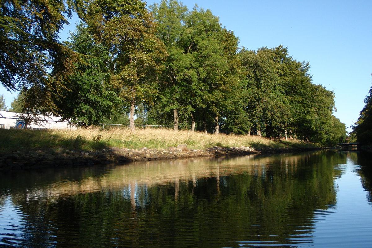 Kanalen mellom Fyllinga og turens startpunkt