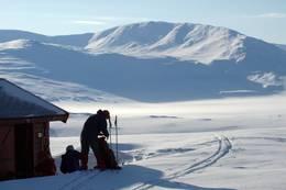 Midtistua, mot søndre Bjellåvatten  - Foto: Trond Haave