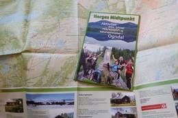 Kart over området - Foto: Kathrine K. Skjelvan