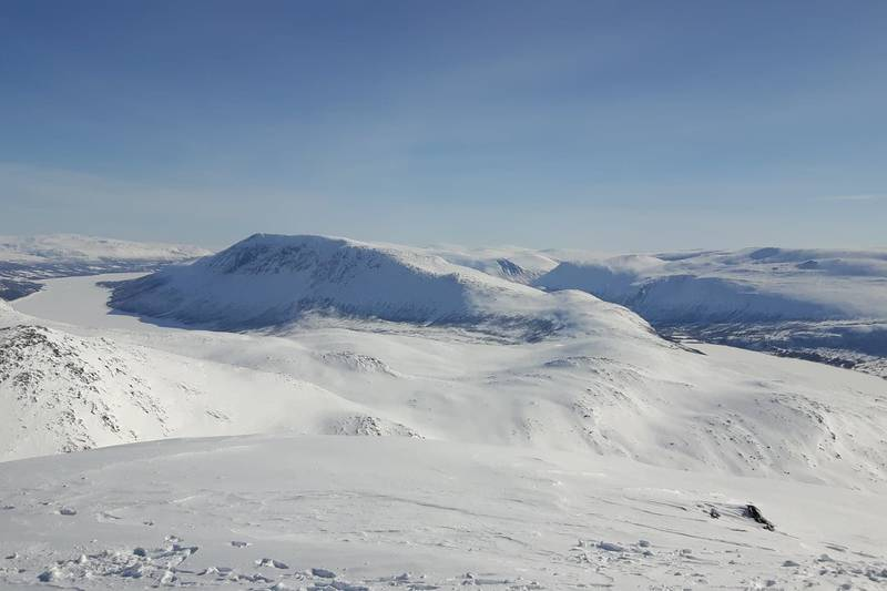 Utsikt fra Storbekkhøa mot Okla.