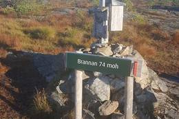 Posten ved Brannan -  Foto: Kari Raaket