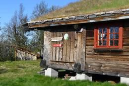 hytta og gapahuken - Foto: Åmund Tonna/DOT