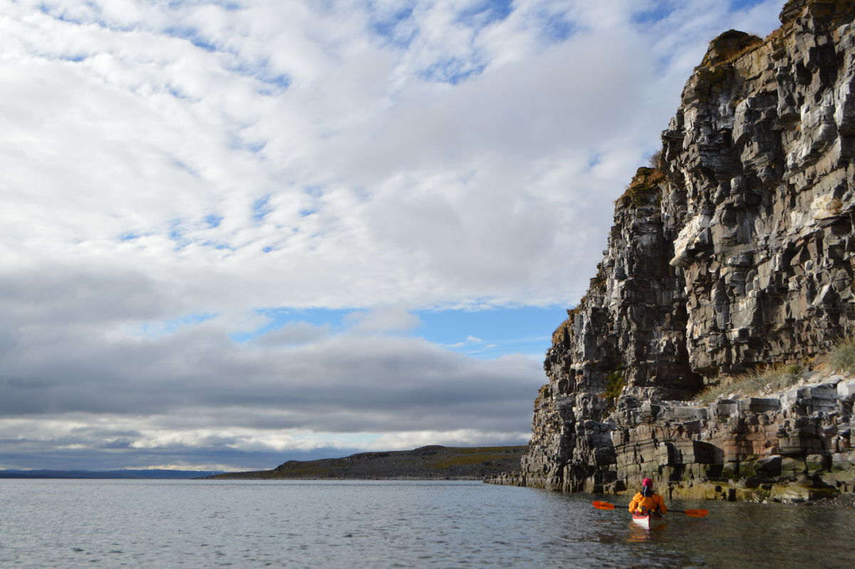 Fuglefjellet, Mortensnes