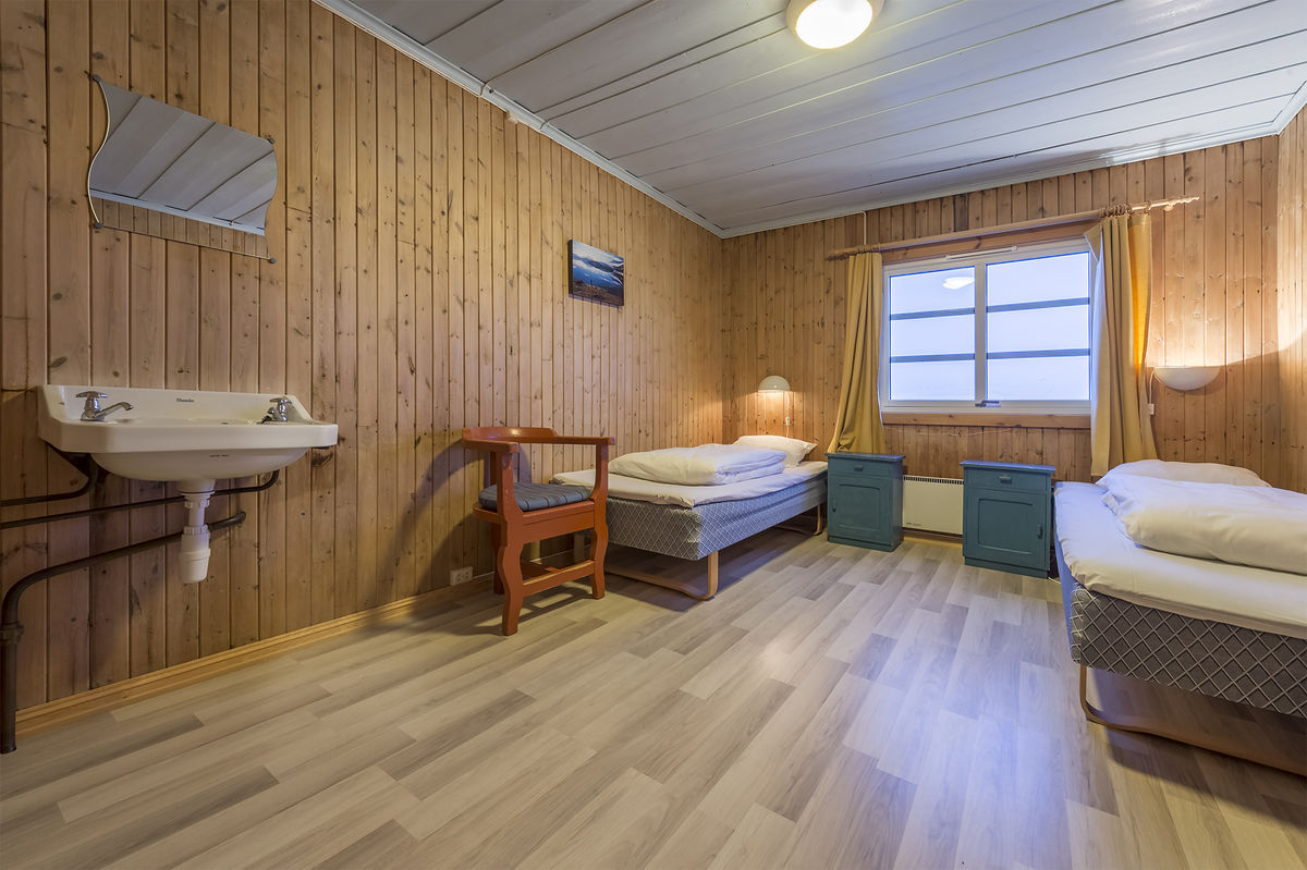 Dobbeltrom uten bad. Foto: Ludvig Killingberg