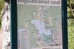 Infotavler rundt Bogstadvannet - Foto: Dag Olav Brækkan