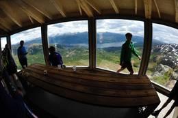 Vidvinkelfølelsen mot fjorden - Foto: Per Inge Fjellheim