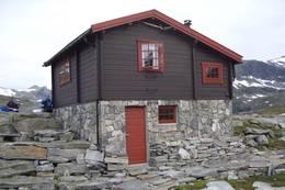 Den flotte muren på Tjønnebu - Foto: Ålesund-Sunnmøre Turistforening
