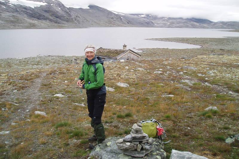 Friisbua ved Torsbu i Tafjordfjella. Foto: Kari Larsen