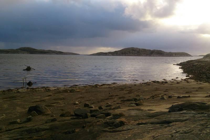 Utsikt fra Håmannshuken